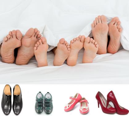 Zeigt her eure Füße zeigt her eure Schuh.